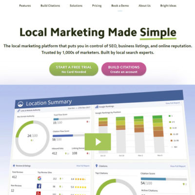 BrightLocal Local Marketing